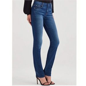 7FAMK For All Mankind Kimmie Straight Leg mid rise